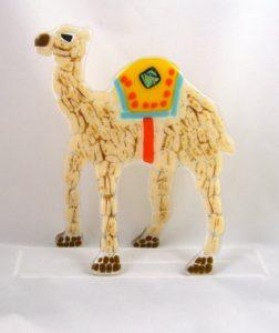 One Hump Camel Carol Korfin Fused Glass
