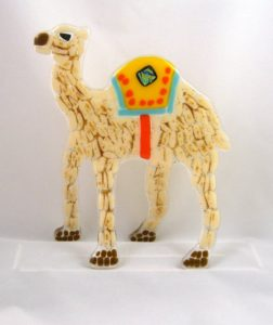 One Hump Camel Carol Korfin Fused Glass